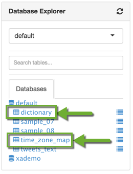 Data Table Folders