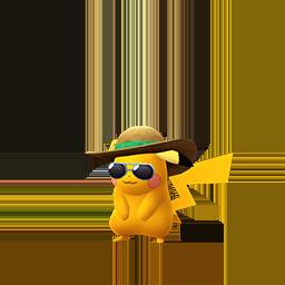 Shiny Summer Pikachu