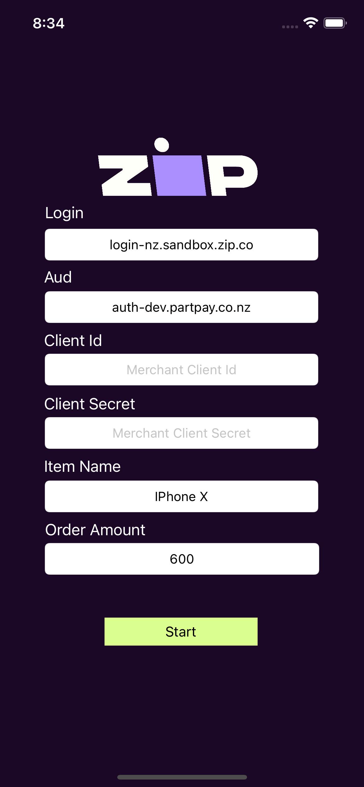 ExampleHomeScreen