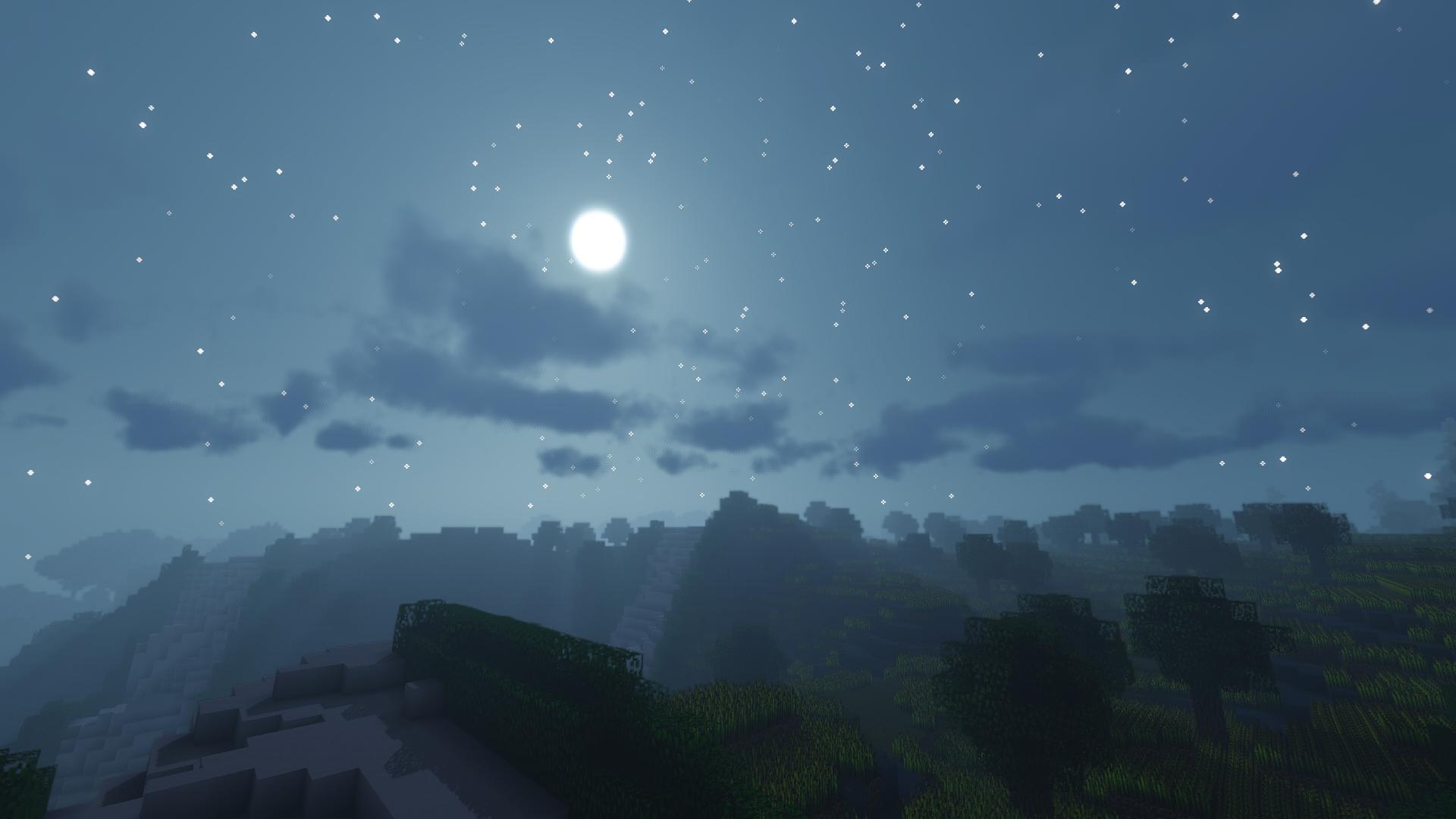Minecraft Night sight