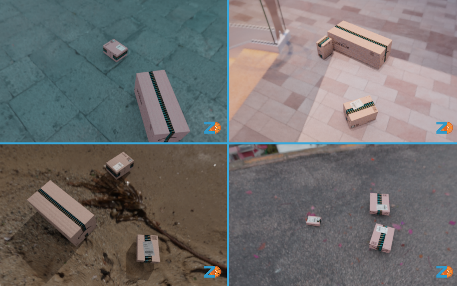 Example synthetic images from package sim.