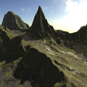 Heightmap terrain's icon