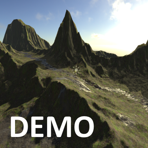 Heightmap terrain demo's icon