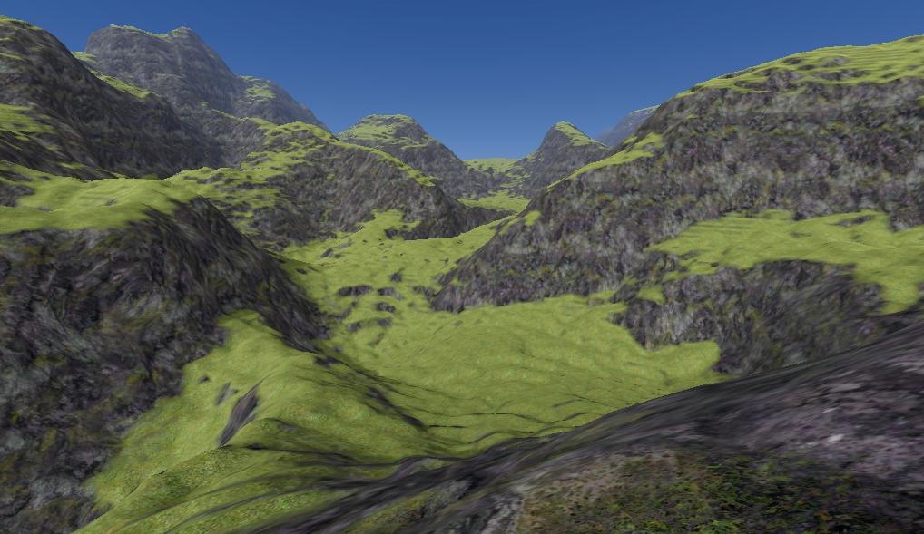 Textured screenshot