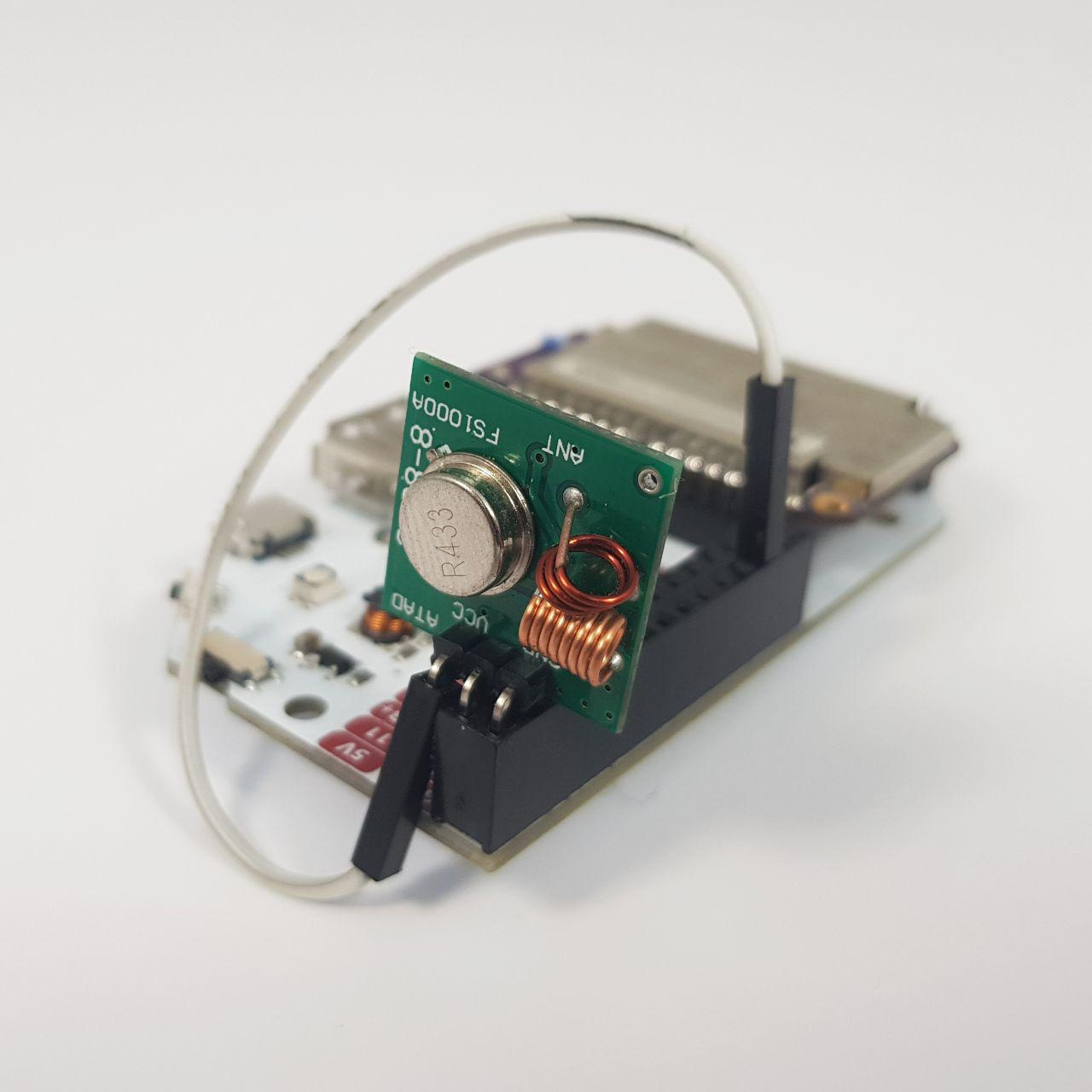 omega2 with RF transmitter