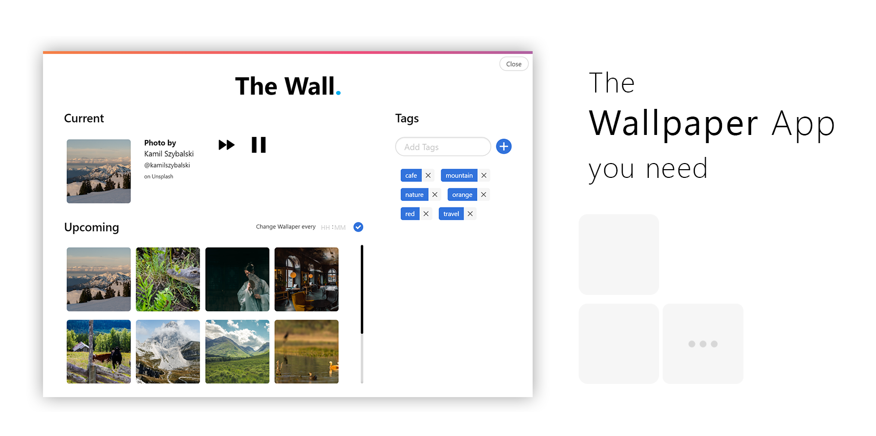 The Wallpaper app you need