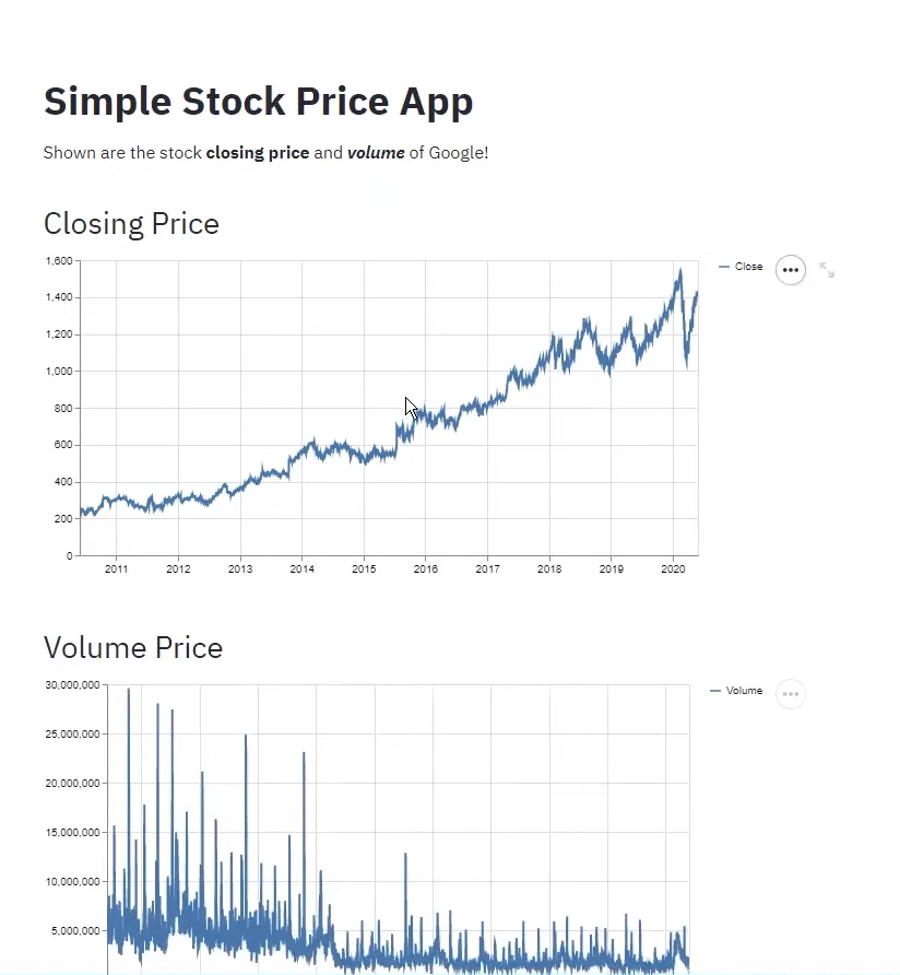 Preview aakash stock app