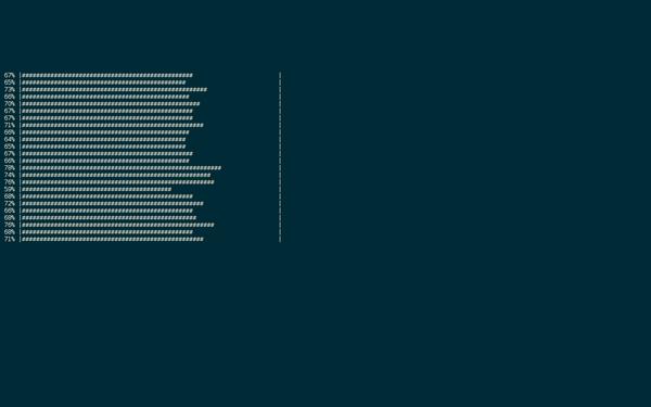 Tqdm progress bar python example
