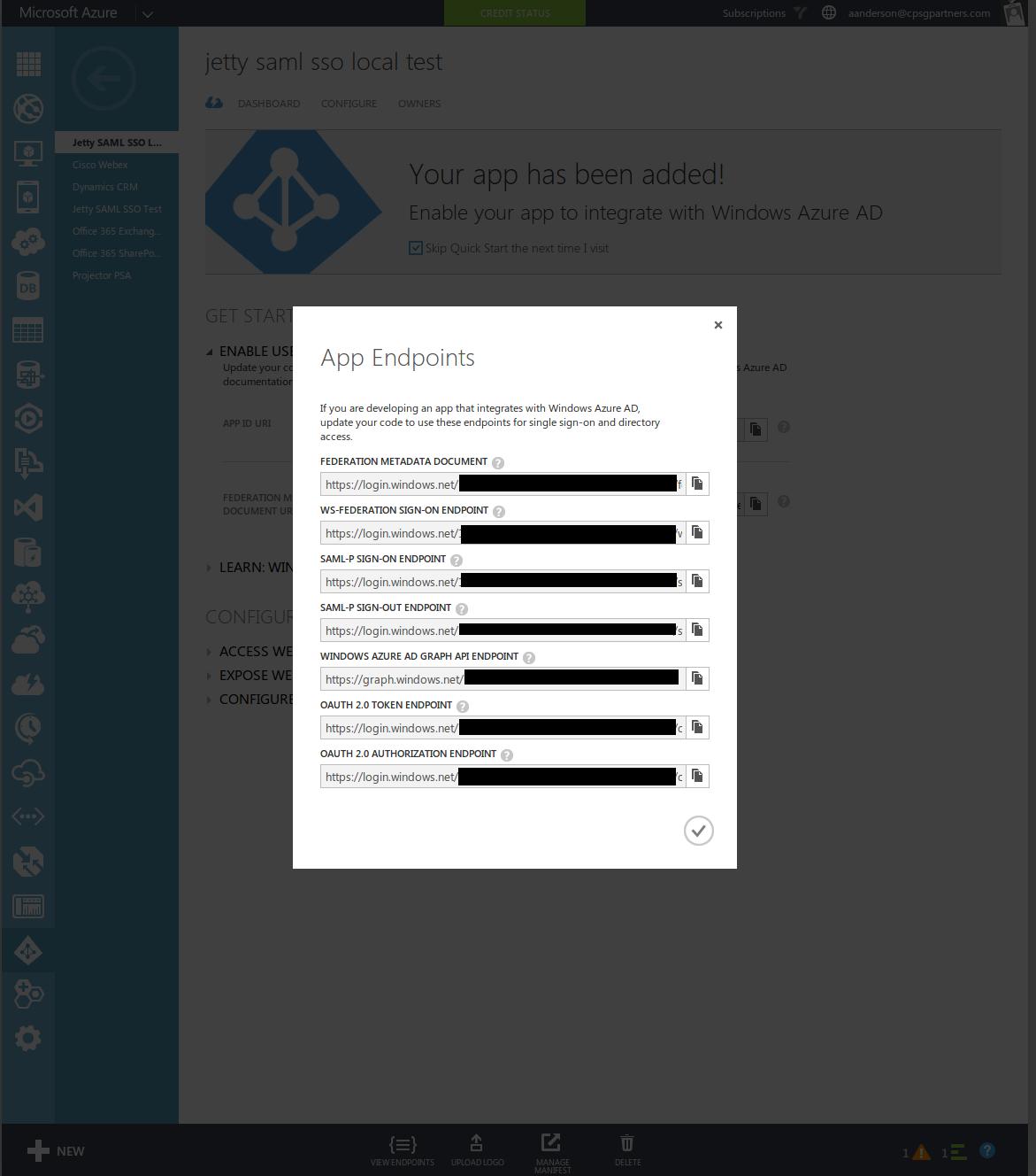 Aaronanderson/waad-saml: SAML Request Binding