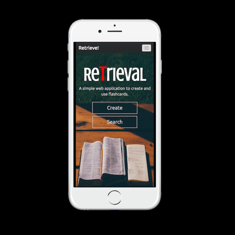 Retrieval Mobile Screenshot