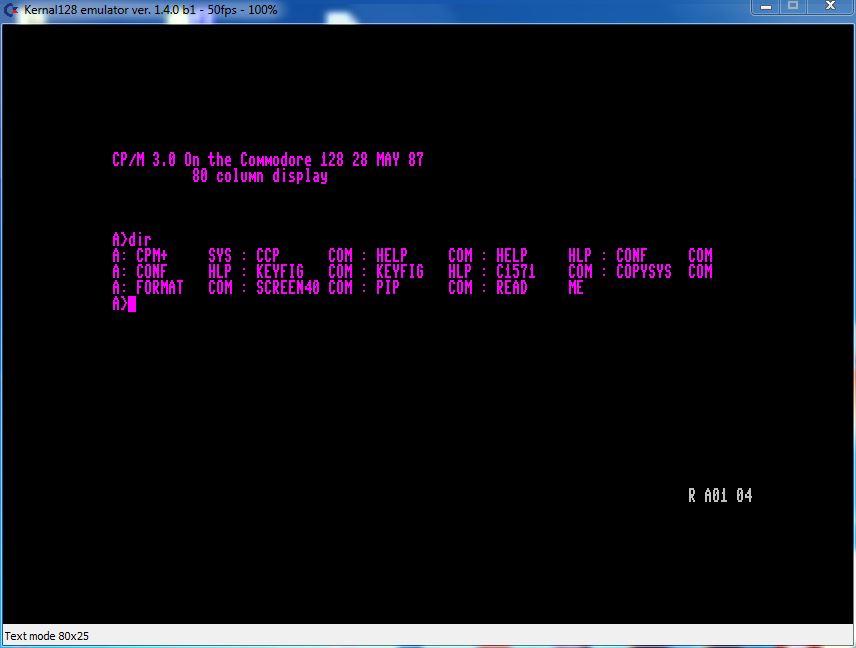 Commodore 128 CP/M 3.0