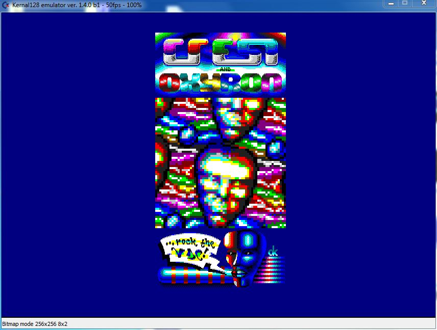 Commodore 128 Risen from oblivion demo