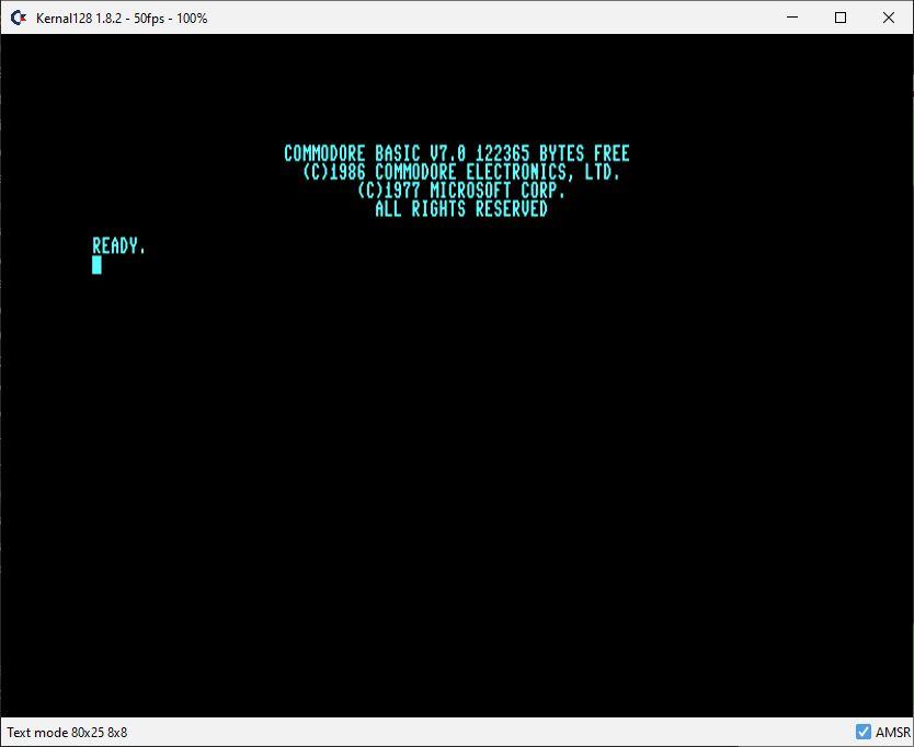 Commodore 128 VDC