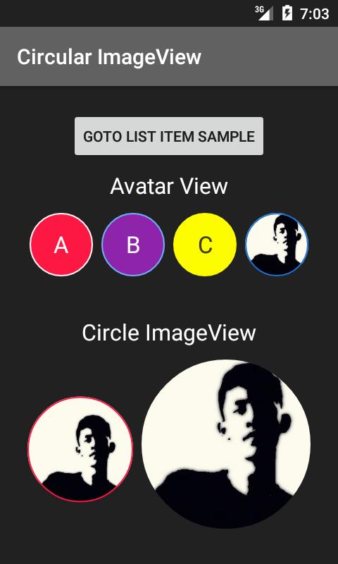 The Android Arsenal - Image Views - Circular Image View