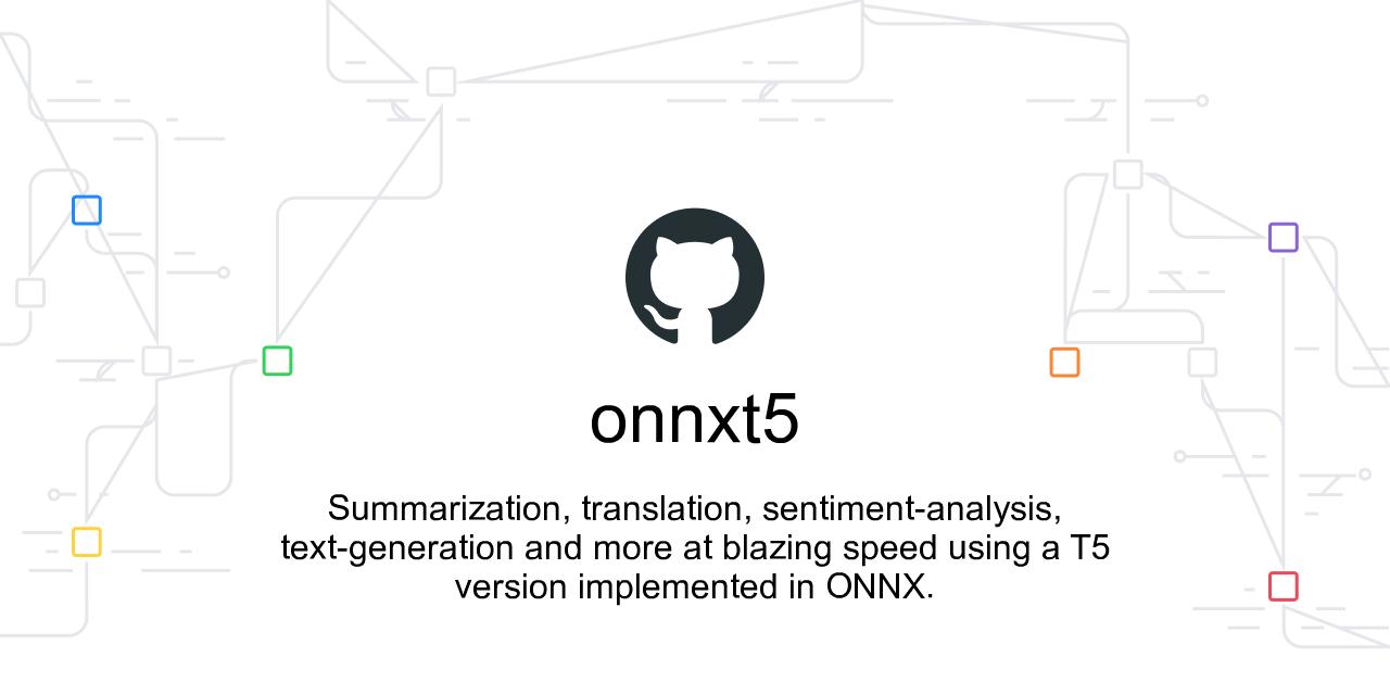ONNX T5