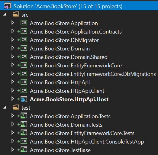 bookstore-visual-studio-solution