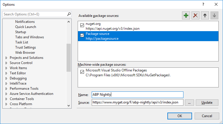 night-build-add-nuget-source