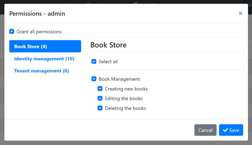 bookstore-permissions-ui