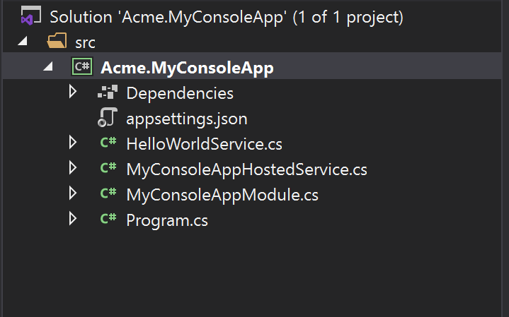 basic-console-application-solution
