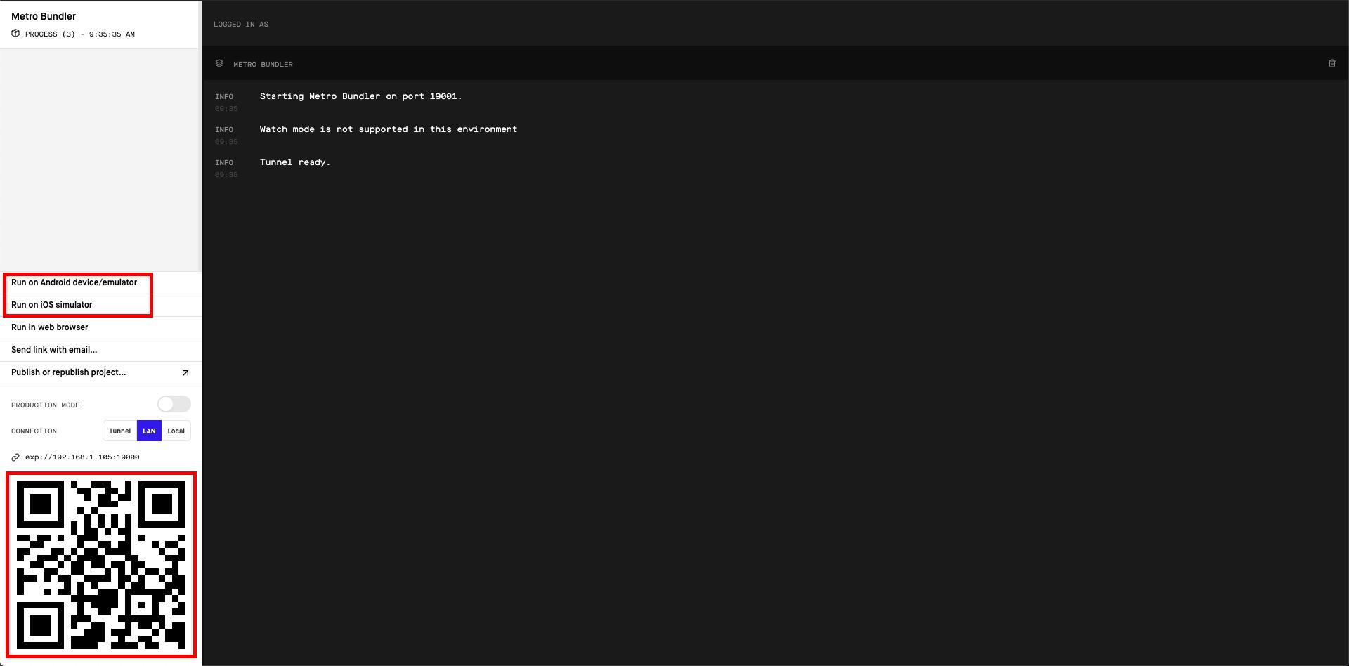 expo-interface