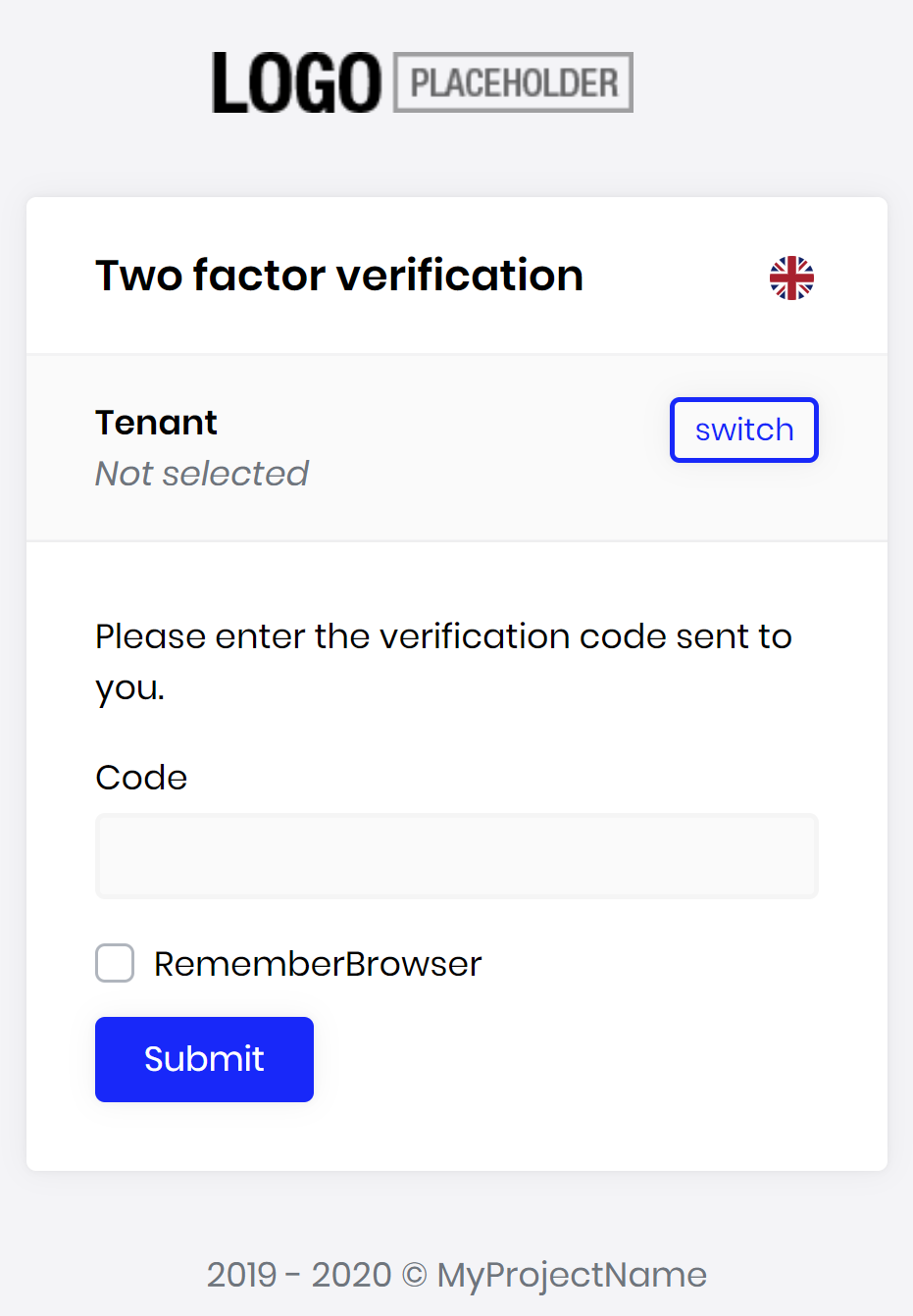 account-pro-module-two-factor-verify-page