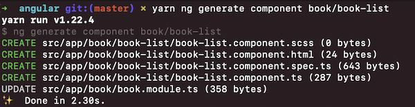 Creating books list