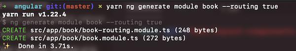 Generating books module