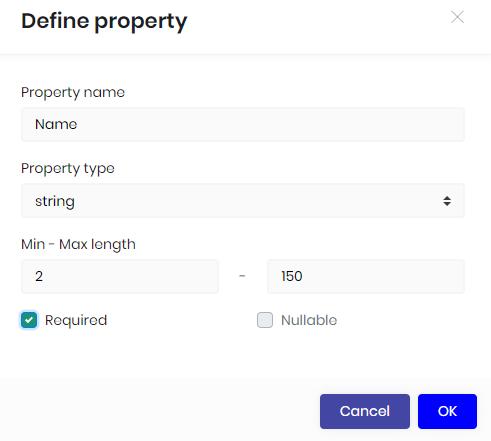 Define a property