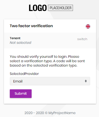 account-pro-module-two-factor-send-page