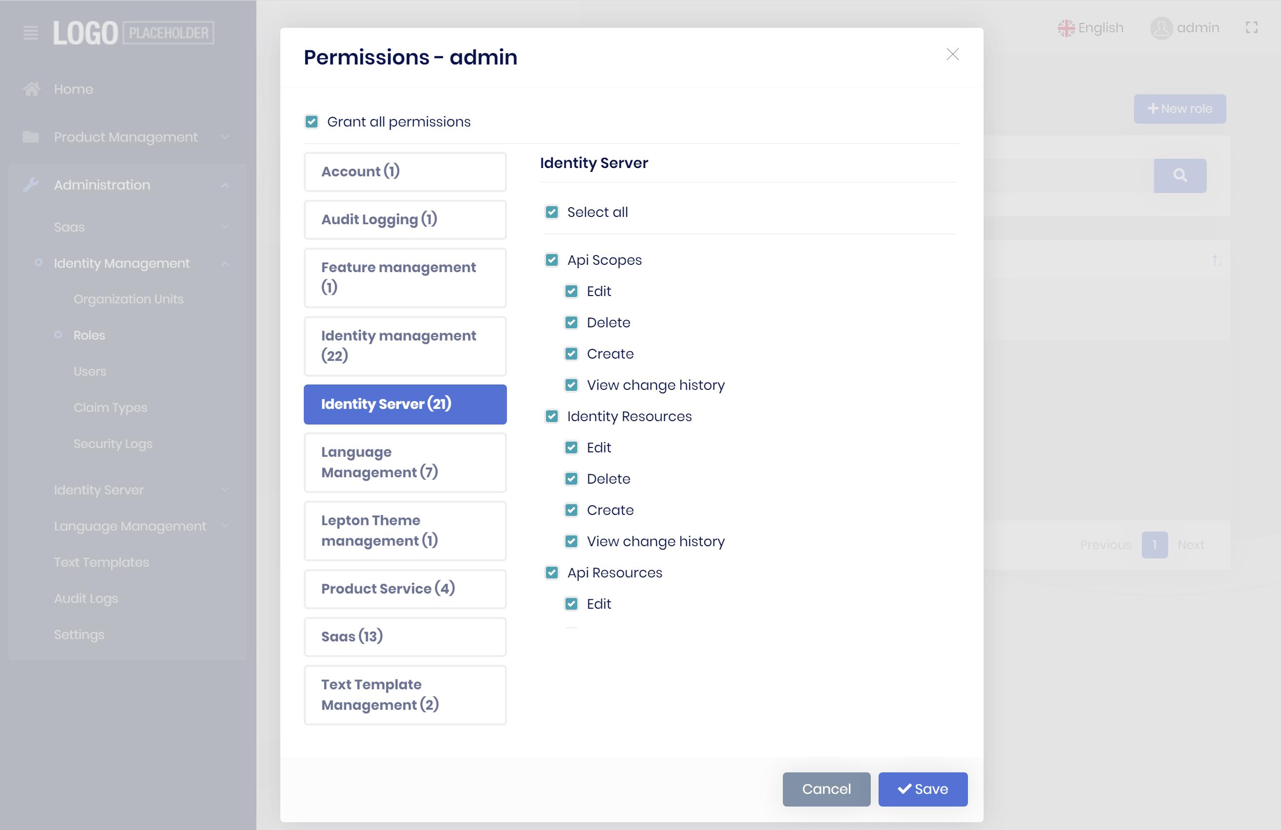 microservice-template-permission-dialog