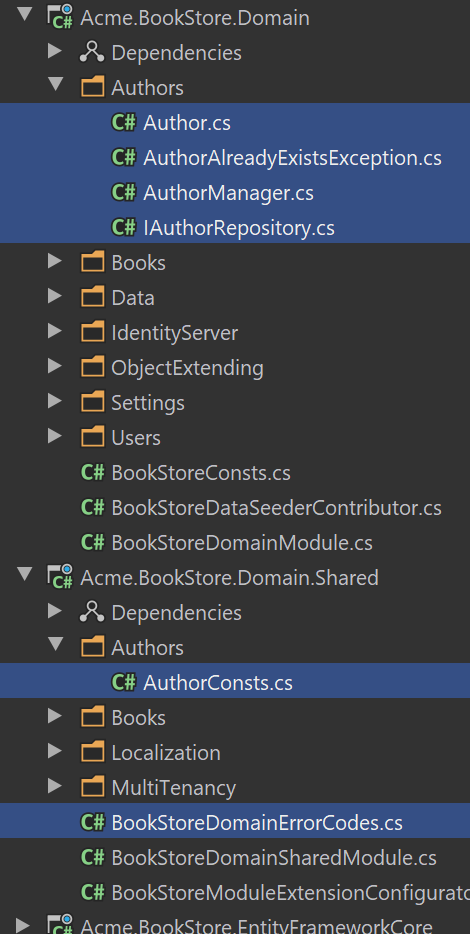 bookstore-author-domain-layer