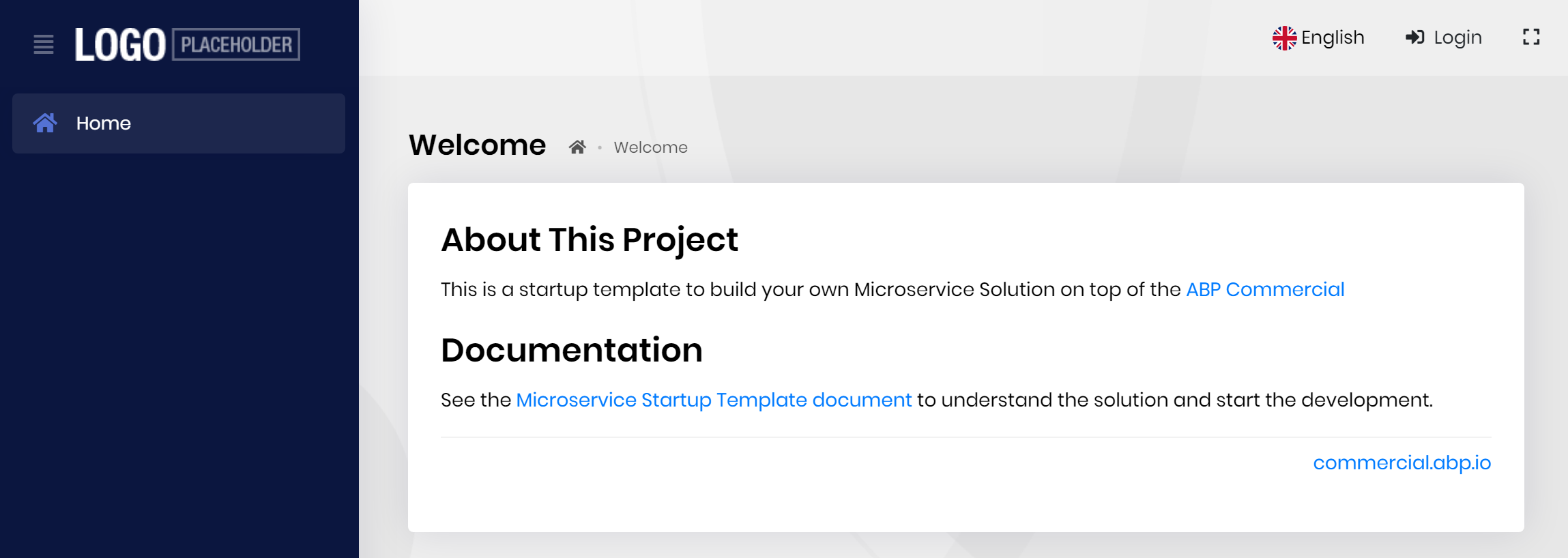 microservice-template-web-app-welcome-page