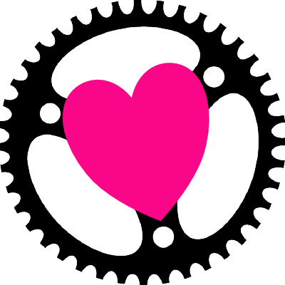 The actix logo with a bright pink heart