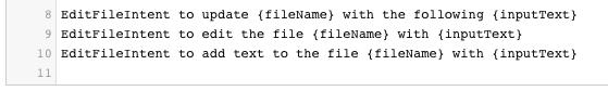 SampleUtterancesImage editing a file