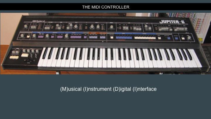 The Midi Controller