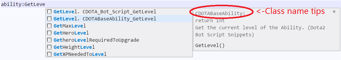 Class Name Tips