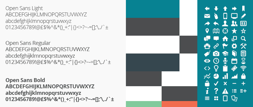 sample colors from the vanilla theme