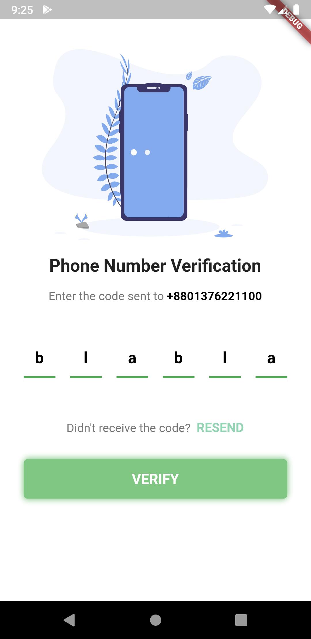 Flutter Generate PIN Code Fields