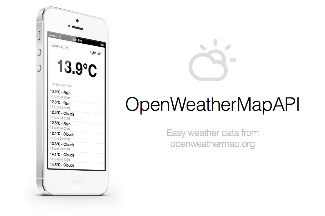 Open Weather Map Api Example.Github Adba Openweathermapapi Ios Api Classes For Openweathermap Org