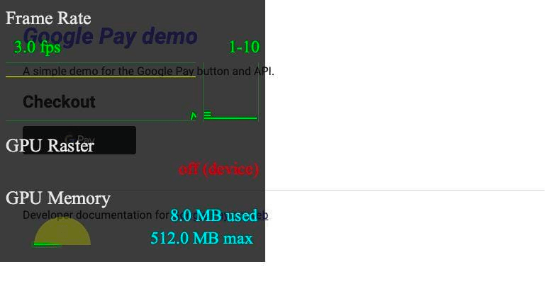 FPS meter from DevTools rendered via Puppeteer
