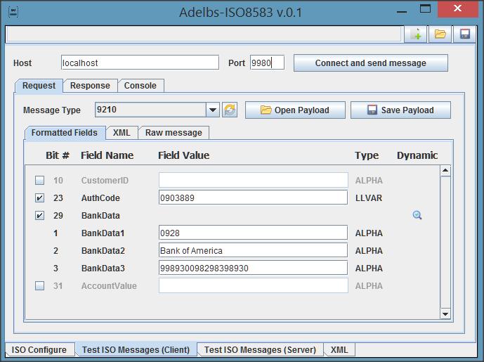 GitHub - adelbs/ISO8583: A gui tool for testing ISO8583 protocol
