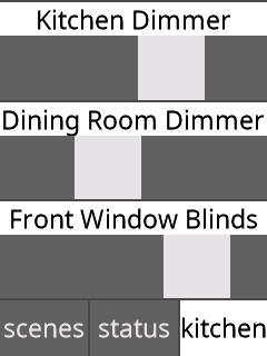 Slider/Dimmer Controls