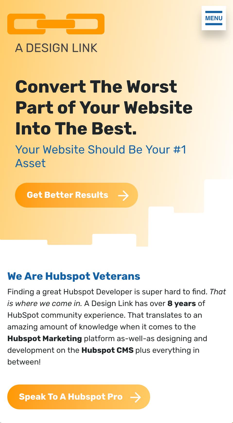 HubSpot | Hubspot Mobile Menu