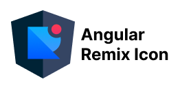 Angular Remix Icon