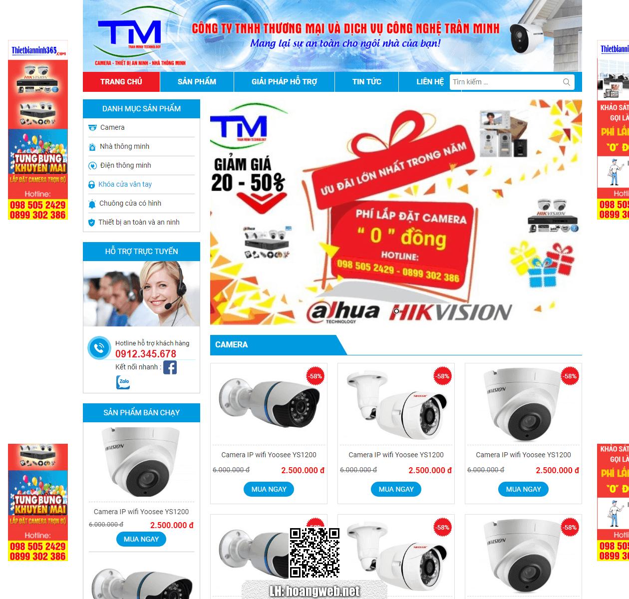 Web bán camera thumbnail