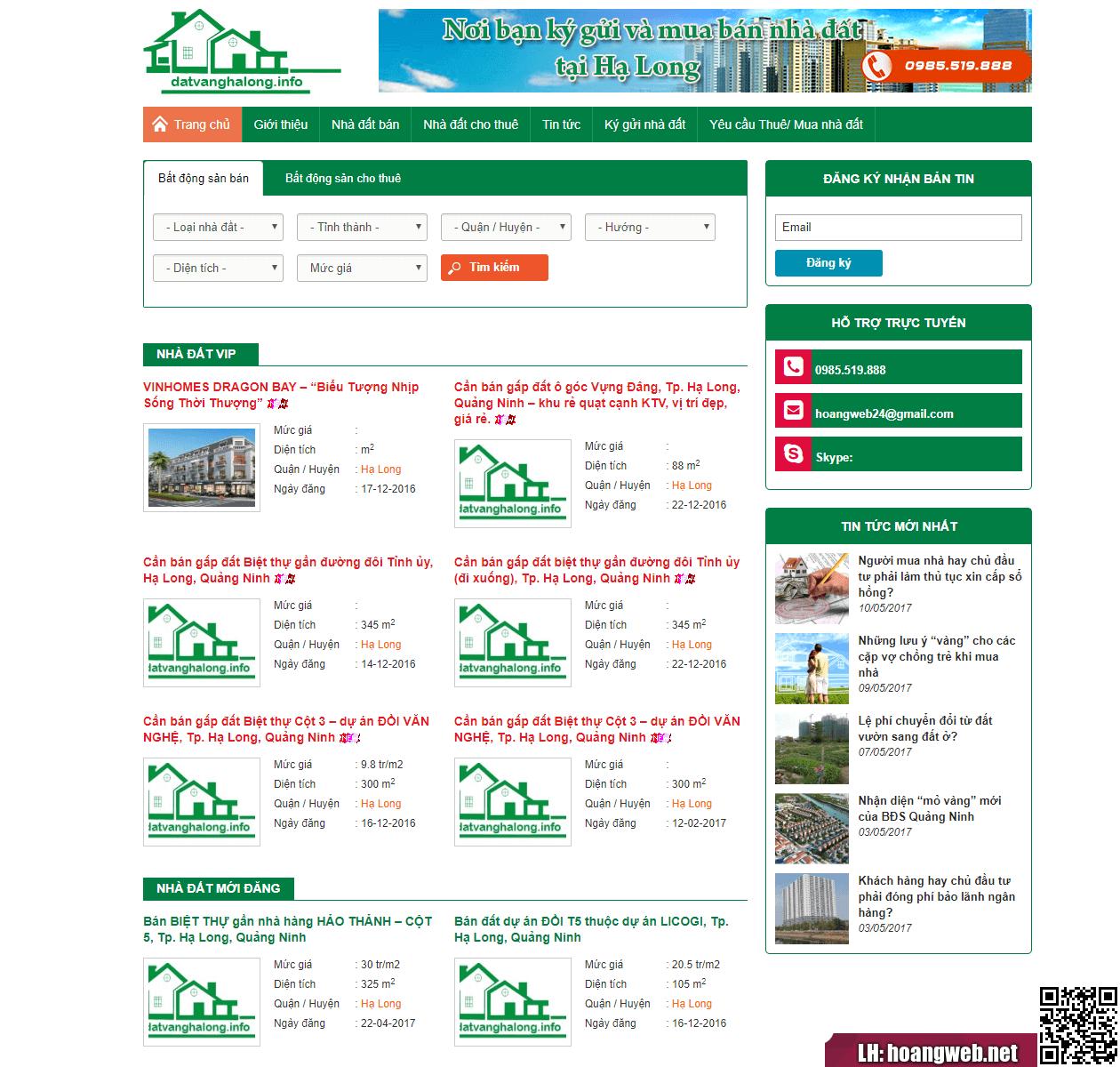 Mẫu web bất động sản 63 thumbnail