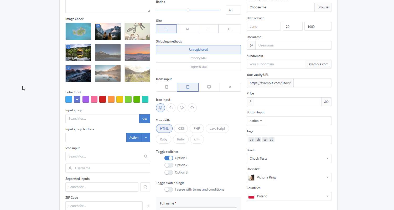 Admin Dashboard Tabler - Open-Source Admin Panel - Screen 31.
