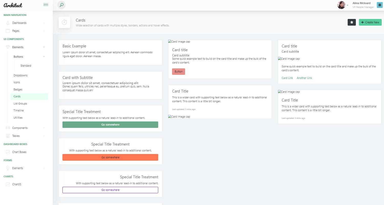Vue Dashboard ArchitectUI - App Screen 2.