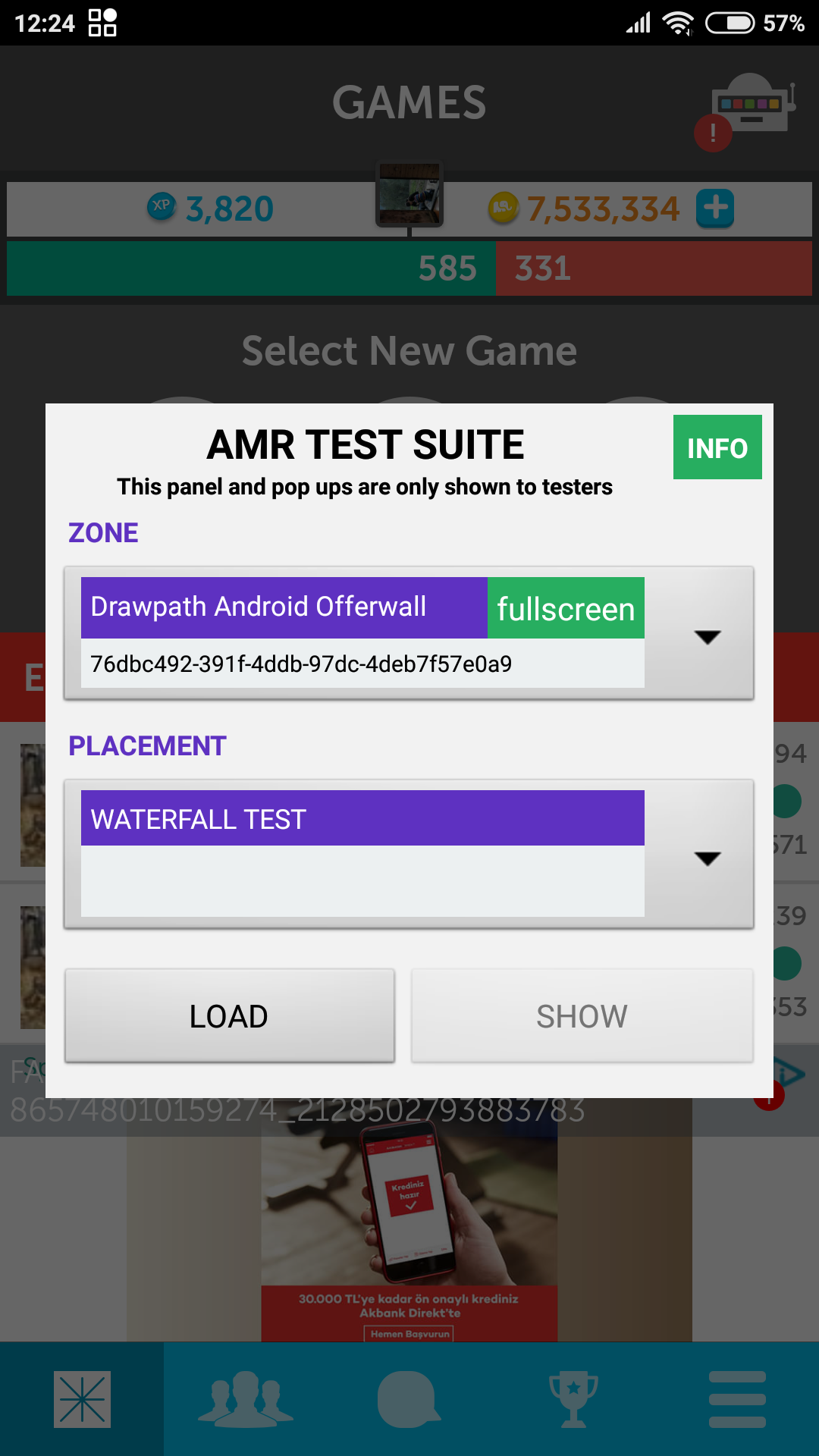 android-test-suite screenshot
