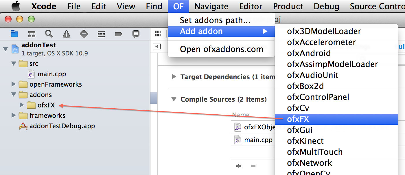 OFPlugin Screenshot